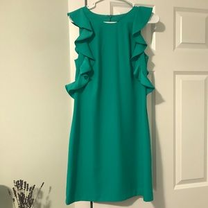 Brand new bright green/teal Banana Republic Dress